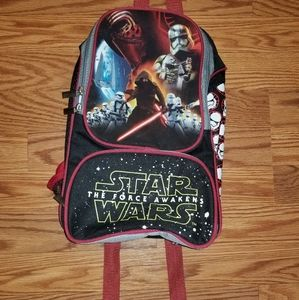 Small star wars backpack